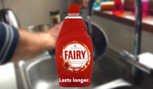 Fairy Liquid Spoof Advert  – iPhone 6 Slo Mo Test