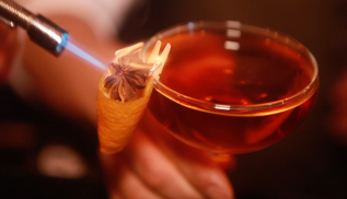 Whiskey Ginger: Most IncredibleGarnishes