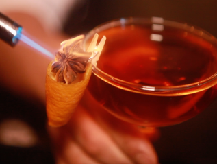 Whiskey Ginger: Most Incredible Garnishes